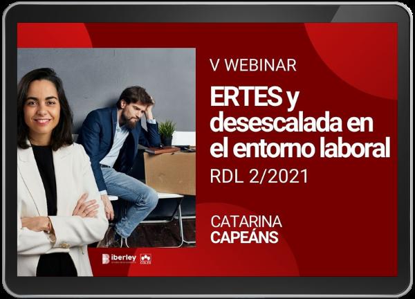 Ertes y desescalada en el entorno laboral RDL 02/2021