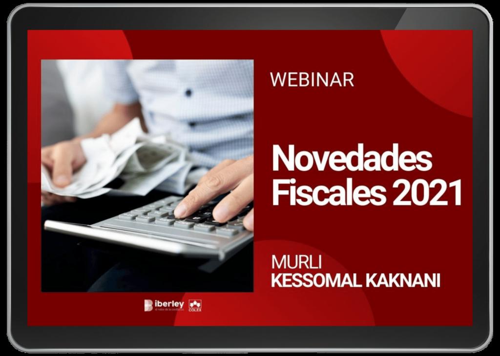 Novedades fiscales 2021