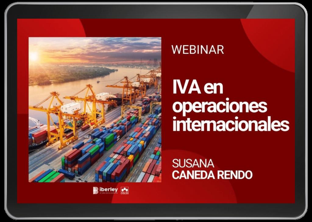 webinar iva en operaciones internacionales